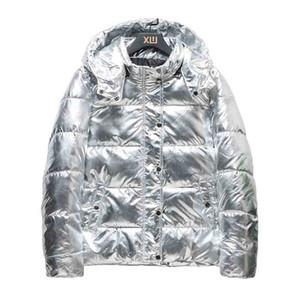 2020의 새로운 남자의 겨울 후드 코튼 코트 패션 남성 두꺼운 따뜻한 다운 패딩 자켓 높은 품질 파카 2 개 색상 아시아 크기의 S-4XL
