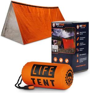 Снасти Life Палатка Emergency Survival Shelter 2 Person Tent Emergency Использовать как Survival Shelter Tube Тарп