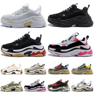 2020 тройные s случайных обуви корзина Hommes Chaussures Zapatos Scarpe мода кроссовки женской мужских тренеры теннис 36-45 папа обуви платформы