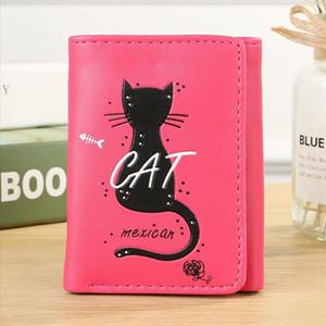 Wome Schöne Brieftasche Einhorn ins Ausland reisen wasserdicht Paßhalter Kreditkarte Cat Brieftasche Paßabdeckung Kartenmappe 711