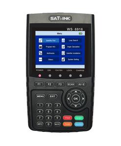 [Original] Satlink WS6916 HD DVB-S2 de alta definición metros satélites del buscador de satélite MPEG-2 / MPEG-4 Satlink WS6916 6916 TFT de 3,5 pulgadas