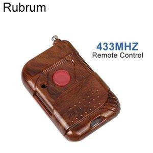 Rubrum 433MHz DC 12V 1 CH Smart Home remoto interruptor de controle de RF Relé Transmissor Botão 433 Mhz Remote Control Para Portão Porta