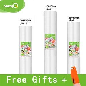 진공 실러 식품 긴 유지하기위한 식품 보관 가방 saengQ 생활 용품 식품 진공 가방 12 + 15 + 20 + 25 + 30cm * 500cm (5) 롤스 / 로트