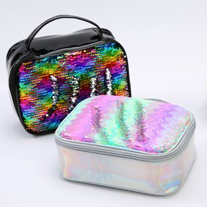 Lunch Boxes Sequin Insulation Bag Children handbags Lunch bag Aluminum Foil Insulation Bags Office Outdoor Food Containers DHL WX9-1863