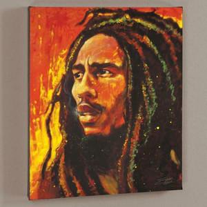 Stephen Fishwick Bob Marley Home Decor Artesanato / HD impressão pintura a óleo sobre tela Wall Art Canvas Pictures 200918