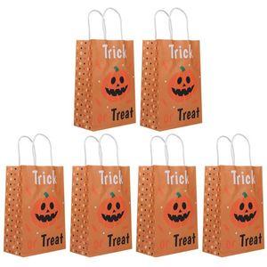 Süßigkeitenhandtasche 6 stücke Halloween-Hausversorgung für Partybedarf Happy Lovely Vetfk