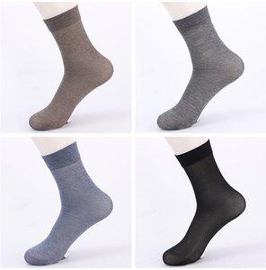 siu74 2020 nova primavera Mercerized negócios mercerizado lazer algodão meados de bezerro meias desportivas meias de algodão dos homens