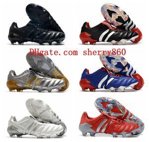 2020 رخيصة المرابط الرجال لكرة القدم المفترس 20+ Mutator هوس المعذب FG أحذية كرة القدم أحذية كرة القدم بريداتور 20 الساخن