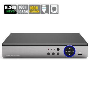 16CH Mini HDMI Hybrid DVR IP Поддержка / Analog / AHD камера 16CH Воспроизведение HV H.265 16-канальный DVR AHD AHD-NH 1080N безопасности CCTV