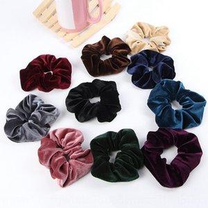 OTPft Hochwertiges Gold Samt großen Darm Ring japanischen und koreanischen Größe accesso blumige Kopfbedeckung Tuch Ring Pferdeschwanz Kopfschmuck Haar