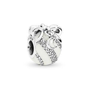 2020 Limited Edition ALE 925 Sterling Silver Christmas Ornament Charms Beads Fit Pandora Style Bracelets for DIY Fashion Jewelry Design Make