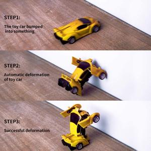 2 em 1 Transformação Robot Car Transformação brinquedo Car Robot Kid Toy brinquedo transformação 35 estilos