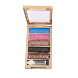 3 Diamond Color Eyeshadow Tray Shimmer Glitter Eye Shadow Palette Matte Eyeshadow Cosmetic Makeup long-lasting Portable