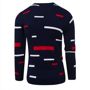 Sweater Pullover Men 2020 Male Brand Casual Mulit-Color Fashion Simple Sweaters Men Comfortable Hedging O-Neck Men'S Sweater d10