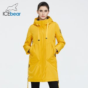 ICEbear new Autumn and winter women's coat with a hood casual wear quality fashion winter jacket brand clothing 200917