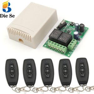 433Mhz Universal Wireless Fernbedienung DC 5V ~ 30V 10A 2CH rf-Relais-Empfänger und Transmitter für Elektrische Vorhänge \ Schiebetür