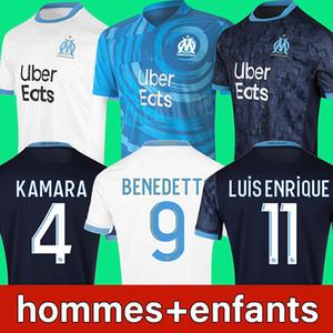 20 21 Olympique De Marseille futbol forması 2020 2021 OM Marseille futbol forması LUIS ENRIQUE BENEDETTO KAMARA THAUVIN PAYET GUSTAVO ÁLVARO soccer jersey