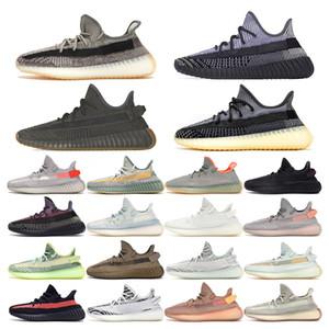 adidas yeezy boost 350 v2    أحذية رياضية كاني رجالي Cinder Tail Light Desert Sage Earth Linen Israfil Zyon Yecheil Yeezreel Cream