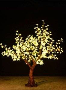 Outdoor RGB color LED Cherry Blossom Christmas Tree lamp 1.5M 432 led bulds Xmas tree Light for Garden Landscape Festival Decoration