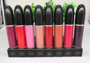 레트로 매트 Liplgoss 액체 Lipcolour 총알 립글로스 비 스틱 컵 모이스처 라이저 천연 영양 (15 개) 다른 색상의 메이크업 립 글로스