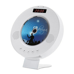 Wall Mounted CD Player Surround Sound DVD Player Hifi FM Radio Bluetooth Portable Music Remote Control Support USB TF Car