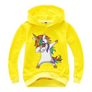 New Kids Clothes Boys Hoodies Tops Unicorn Print Children Clothing Long Sleeve Tees Tops Baby Custume kids T Shirts