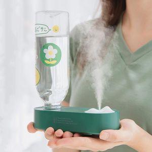 Mini Portable Wireless Air Humidifier Rechargeable 2000mAh Battery Ultrasonic Cool Mist Water Diffuser Humidificador USB Fogger