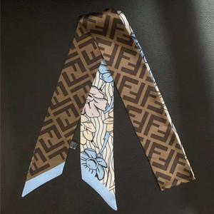 2019 Новой мода практичных дам полиэстера двухсторонней напечатанного шарфа девочки, ободков для волос Кольца СУМОЧКИ шарфов бесплатной доставки