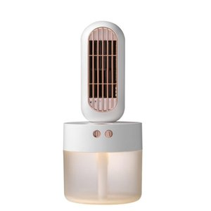 V8 Usb Powered Portable Convenient Fashion Desktop Air Conditioner Cooler Water Cooling Mini Fan Humidifier