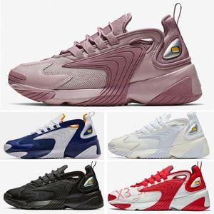 zoom 2K 2000 Zoom M2K 2K Tekno 2000 hommes Chaussures de course pour femmes Triple Noir Blanc dynamique chaussures sneakers sport style jaune 36-45 X32