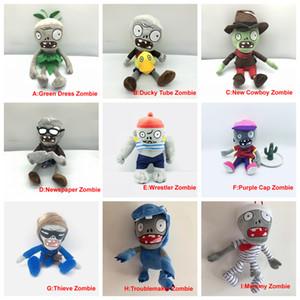 Растения против Зомби Плюшевые игрушки Фаршированные куклы Сборнике Zombies part5
