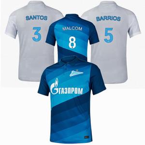 20 21 FC Zenit Saint-Pétersbourg Jersey de football 2020 2021 Malcom Rigoni Dzyuba Azmoun Lovren Football Shirt 4XL