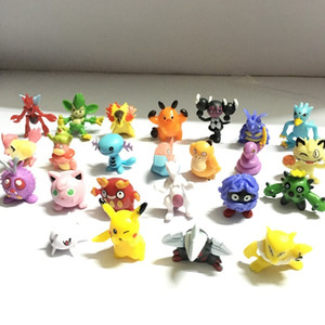 144 pcs Pika action figure kids toys children Birthday Christmas gifts 2-3 cm Mini AnimeToy Figures for Children