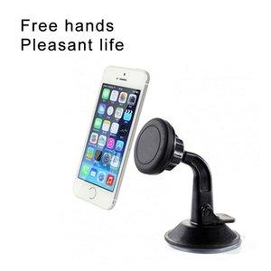 Magnetic Car Phone Holder pára-brisa Cradle traço Conselho Braço longo Car Mount para o iPhone Samsung Com Retail Box