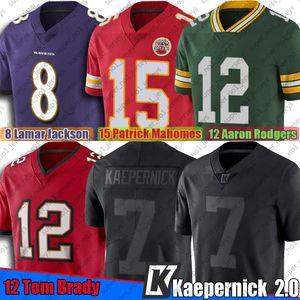 Colin Kaepernick Icône 2.0 Jersey Ture 7 à TampabaieBoucanier12 Tom Brady Aaron Rodgers Patrick Mahomes Lamar Jackson
