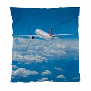 Flugzeug Start Decke Mode Brief gedruckt Decke, Flugzeug, Couch / Stuhl / Love Seat / Auto-Camping Blanket