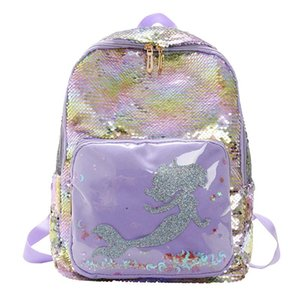 Borsa Xa602h Mermaid Collegio Mochila Borse ragazze variabile Glitter Travel Carino Ologramma Laptop Backpack Fashion School laser Paillettes dhHvd