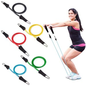 11Pcs Set Yoga Fitness Pull Rope Exercises Resistance Bands Latex Tubes Pedal Workout Body Training Accessories hot