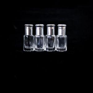 저장 병 항아리 3 ml 6 10 12 유리 롤러 병 팔각형 골드 실버 빈 화장품 용기 롤 에센셜 오일