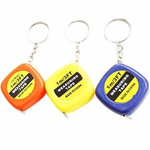 Toptan Anahtarlık Rastgele Metre Portatif Ölçüm 1 Renk Sevimli Yeni Teyp Aracı TW 1 Adet Anahtarlık Mini Popüler Anahtarlık 624_tsetBMh nana_shop