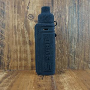 마우스 피스 먼지 캡 실리콘 가죽 케이스 맞춤 VOOPOO 드래그 S 키트 DHL과 파우치 커버를 운반 DRAG S 케이스 실리콘 슬리브