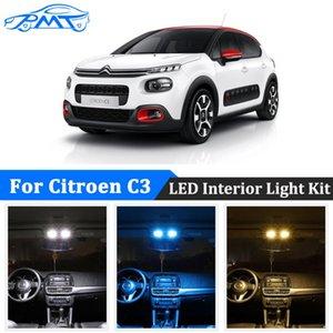BMT For C3 I II III 1 2 3 Hatchback LED Interior Light License Plate Lights Canbus No Error Bulbs Car Lighting Styling