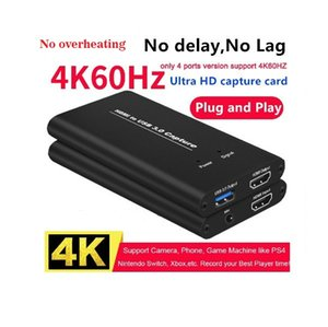 ULTRA HD Video capture usb 3 USB3.0 HDMI 4K60Hz video capture card 4k Dongle Game Streaming Live Stream Broadcast Player Device