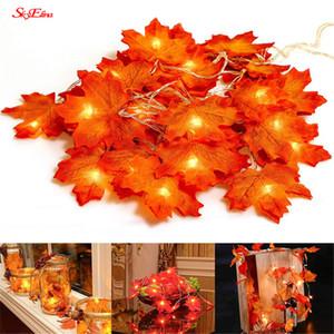 7z 1,5 / 3 / 6M Handmade LED Luzes Cordas Bateria Fariy luz do feriado da corda Led casamento do evento Garland Decoração