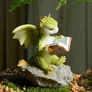 How to Train You Dragon Ornament Doll Simulation Magic Miniature Figurines Gifts Decoracion Hogar Nordico Home Decor Accessories