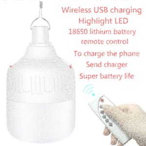 camping light tent chandelier barbecue light remote control LED emergency charging wireless waterproof night market lamp wfUJ#
