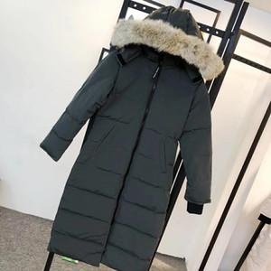 Raccoon fur down coat zipper black winter british style men down jacket hood coat classic keep warm Thick Parka Men's Down jacket goose