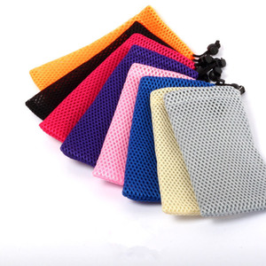 Pouches Carry Pouch Pocket Bags Carrying Package Packing Retail Cases with Black Drawstring Rope for Ego E Cigarette 9*12cm