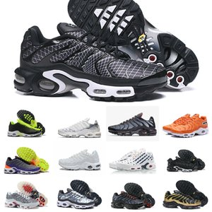 2021 nuovi disegni scarpe originali Tn degli uomini poco costosi nero traspirante Air Mesh Chaussures Inoltre Tns Requin Ultra Sport Sneakers Casual Shoes