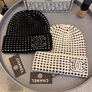 Sombreros otoño invierno para las mujeres de los hombres Marca diseñador de moda Gorros Skullies Chapéu casquillos del algodón Gorros Toucas De Inverno Macka B158